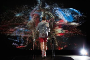 Nike Treadmill Experience Immerses the Runner in Sensory Enriching Journey