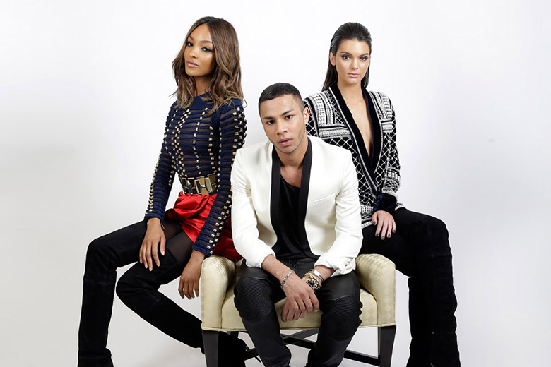 Olivier Rousteing for Balmain Is H&M's Next Designer Collaboration
