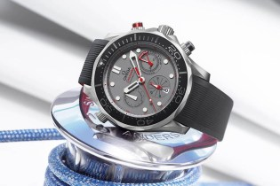 Omega Unveils Seamaster Diver 300m ETNZ for the 35th America's Cup