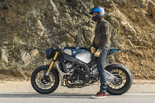 Orlando Bloom Talks Motorcycles and Rides the New BMW S 1000 R Custom