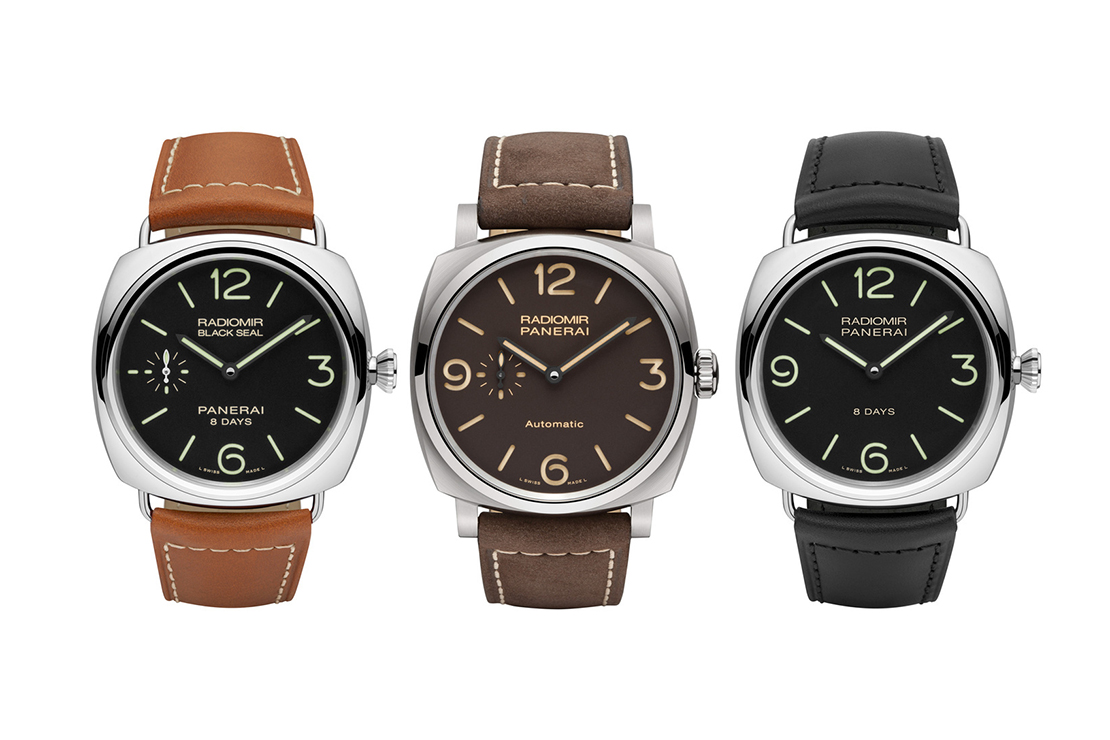 Panerai Introduces a Trio of New Radiomirs