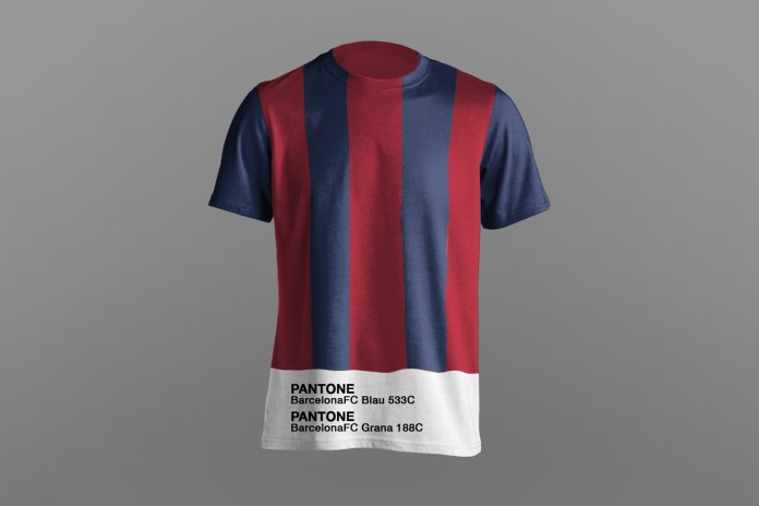Paulo Oliveira Reimagines Iconic Soccer Jerseys With Pantone Sponsorship
