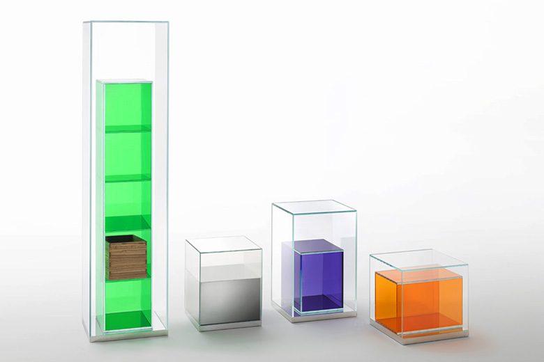 Philippe Starck x Glas Italia Boxinbox Collection