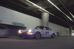 Porsche 911 Enthusiast Magnus Walker Takes a Drive Through Downtown LA