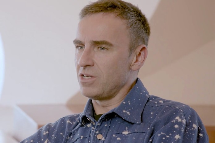 Raf Simons Talks About Taking Over the Creative Helm at Christian Dior