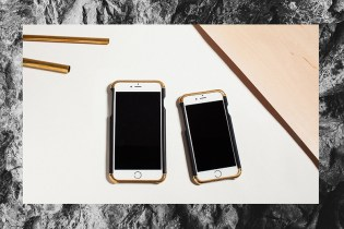 REVISIT Products' Brass iPhone Cases Inspired by Architectural Design