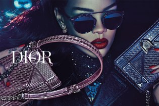 """Rihanna Stars in Dior's """"Secret Garden IV"""" Campaign by Steven Klein"""