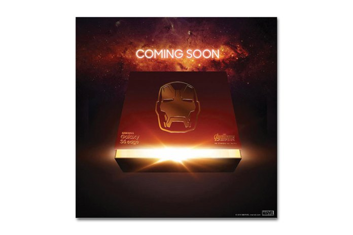 "Samsung Is Releasing an ""Iron Man"" Edition of the Galaxy S6 Edge"