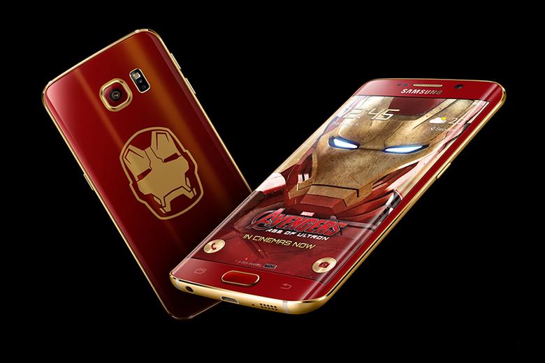 Samsung Unveils the Iron Man-Themed Galaxy S6 Edge