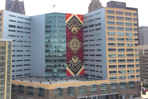 Shepard Fairey Unveils Largest Work to Date in Detroit