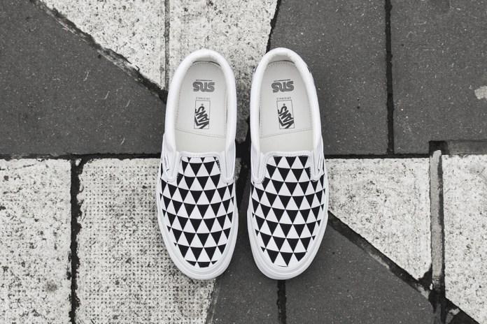 "Sneakersnstuff x Vault by Vans OG Classic Slip-On LX ""Stockholm"""