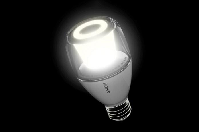 Sony Introduces the LED Light Bulb Speaker