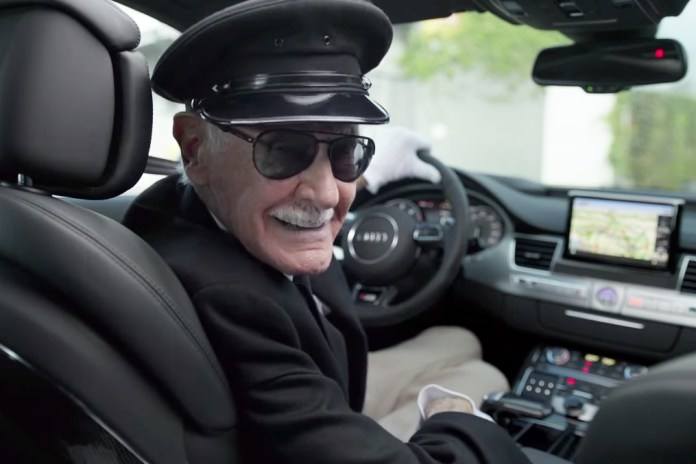 "Stan Lee Teaches ""Cameo Acting"" in This Commercial for the Audi S8"