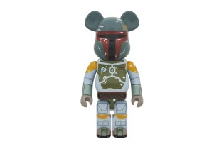 'Star Wars' x Medicom Toy 1000% Boba Fett Bearbrick