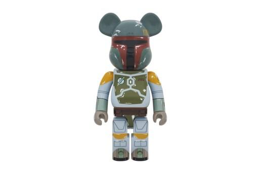 'Star Wars' x Medicom Toy 1000% Boba Fett Bearbrick