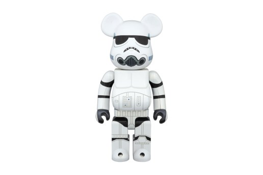 "'Star Wars' x Medicom Toy 400% & 100% Stormtrooper ""Chrome"" Bearbricks"