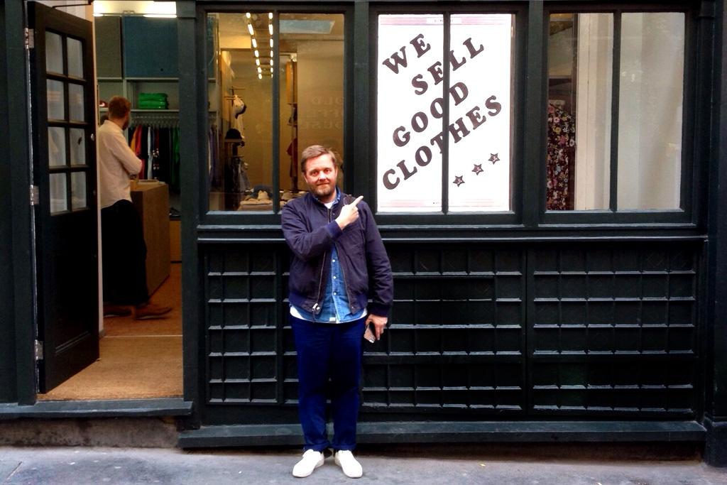 Steve Sanderson of Oi Polloi Talks New London Store and UK's Changing Menswear Landscape
