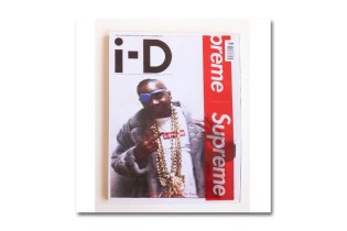 Supreme's Limited Edition 'i-D' 35th Anniversary Cover