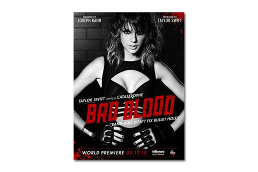 "Taylor Swift Debuts New Music Video for ""Bad Blood"" at the Billboard Music Awards"