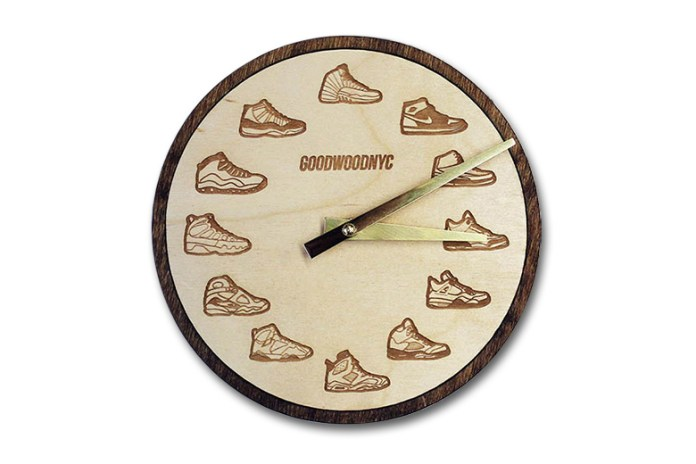 Test Your Sneaker Knowledge With This Air Jordan Clock