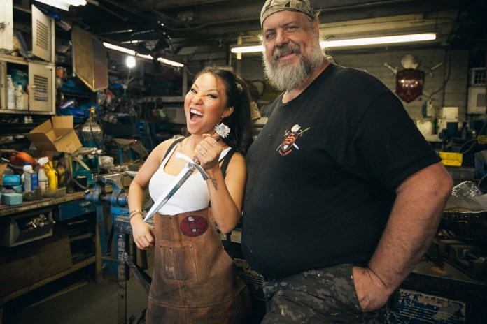 The Hundreds Presents 'Hobbies With Asa Akira' - Blacksmithing