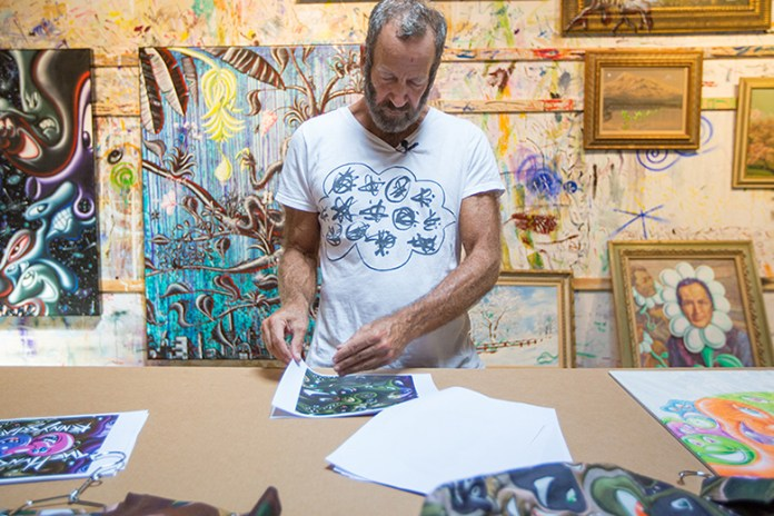 The Hundreds Presents 'In the Studio' With Kenny Scharf