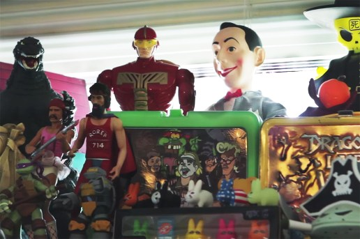 The Hundreds 'Secret Stash' Checks Out Jack Rossi's Incredible Toy Collection