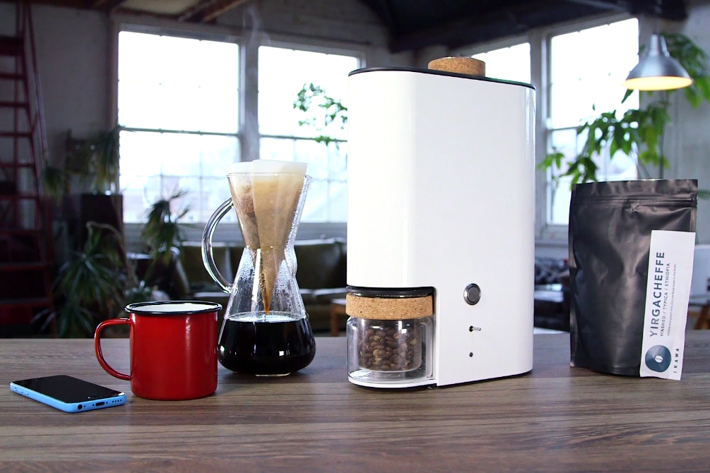 The IKAWA Bean Roaster Allows Unprecedented Control Over Your Coffee