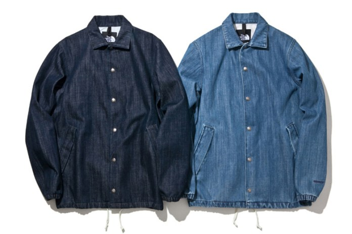 The North Face 2015 Spring/Summer Denim Coach Jackets