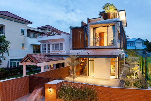 The Railway House by Aamer Architects