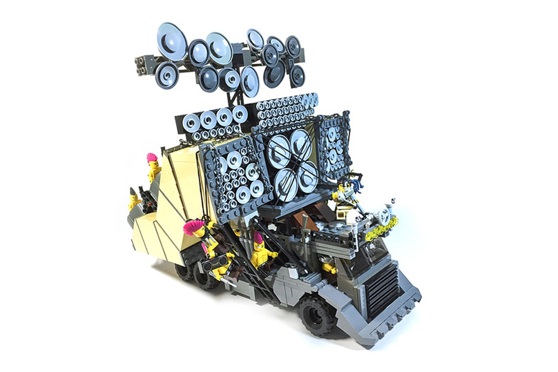 The Vehicles of 'Mad Max: Fury Road' Made of LEGO