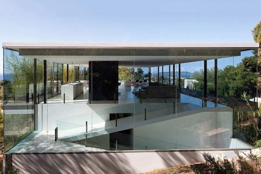 Transparent Sea-View House by Atelier d'Architecture Bruno Erpicum & Partners