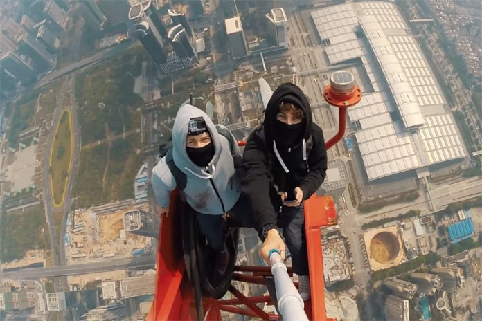 Two Daredevils Climb the World's Second-Tallest Building