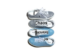 """UNDERCOVER 2015 Spring/Summer Checkerboard """"Chaos/Balance"""" Sneakers"""