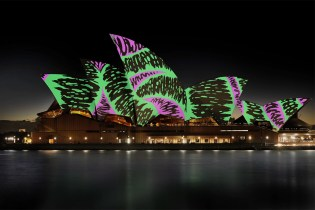 Universal Everything Projects Colorful Hand-Drawn Murals on the Sydney Opera House