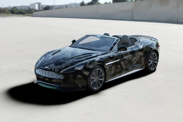 Valentino Customizes an Aston Martin Vanquish for Cash & Rocket
