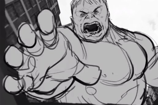 Watch the Pre-CGI Animation of the Hulk vs. Hulkbuster Fight Scene From 'Avengers: Age of Ultron'