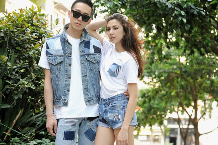 "WOAW x Midwest ""WOAWWEST"" Denim Patchwork Collection"