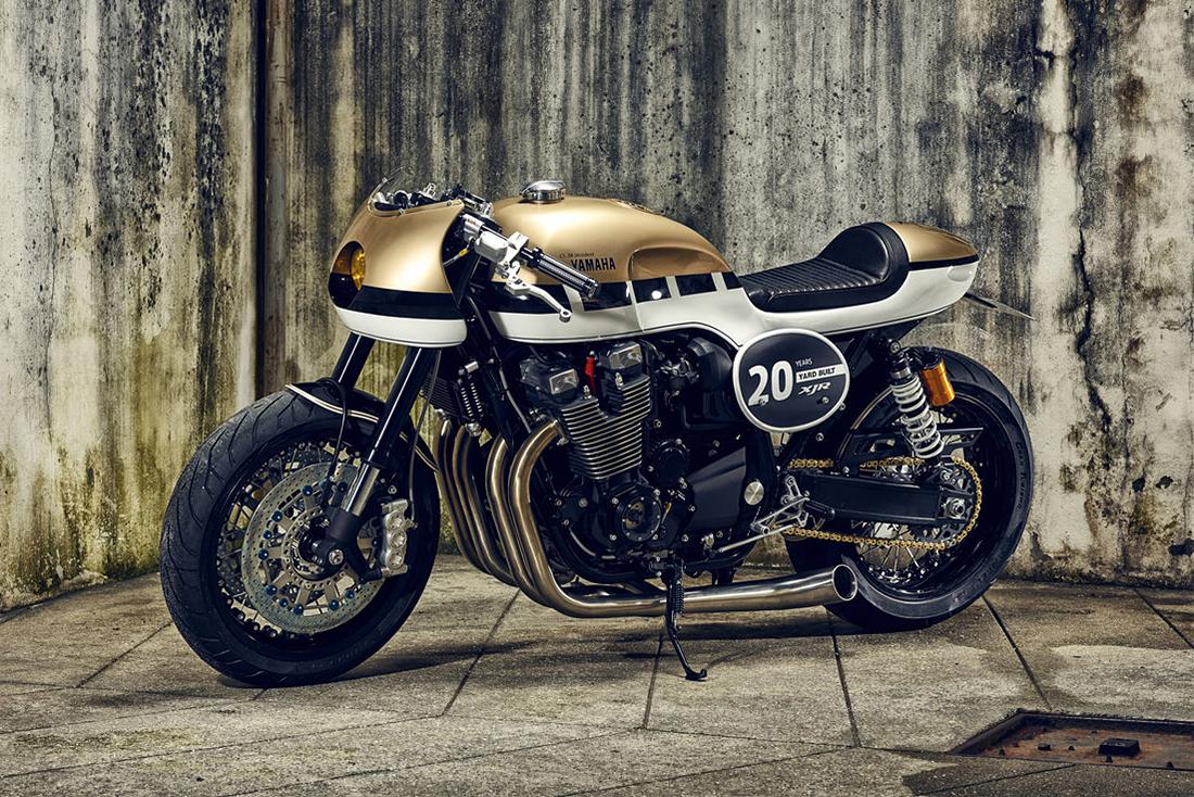 "Yamaha XJR1300 ""Dissident"" Celebrates Bike's 20th Anniversary"