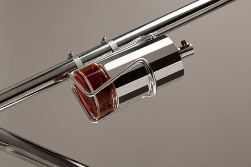 """Yorgo&Co Designs the """"Martell"""" Cognac Flask for Your Bike"""