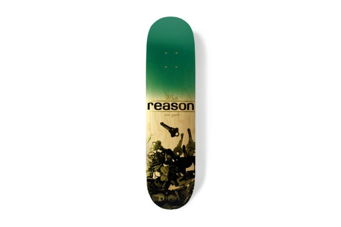 "Zoo York Matt Reason ""Keys"" Tribute Deck"