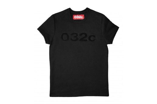 '032c' Stealth Varsity Logo Sweatshirt