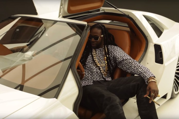 "2 Chainz Checks Out West Coast Customs' ""Most Expensivest"" DeLorean"
