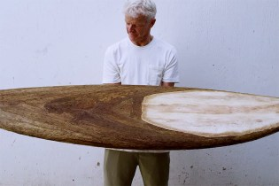 65-Year-Old Surf Legend Creates a 100% Agave Surfboard