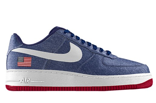 NikeiD Launches Embroidered Flag Option for Nike Air Force 1
