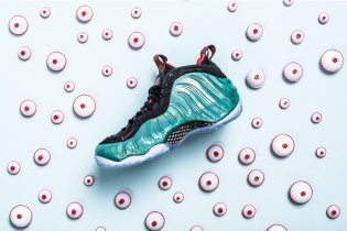 """A Closer Look at the Nike Air Foamposite One """"Gone Fishing"""""""