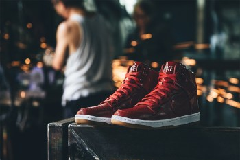 "A Closer Look at the Nike Dunk Lux High SP ""Gym Red"""