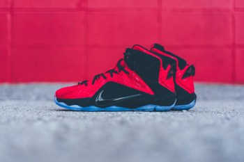 """A Closer Look at the Nike LeBron 12 EXT """"Red Paisley"""""""