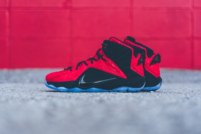 "A Closer Look at the Nike LeBron 12 EXT ""Red Paisley"""