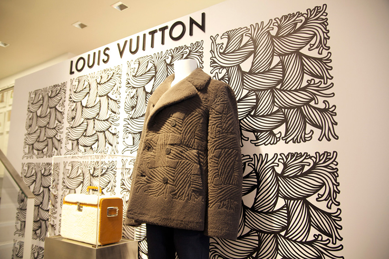 A Look Inside Louis Vuitton's Christopher Nemeth-Inspired Pop-up @ colette